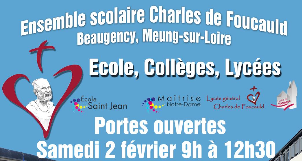 2-2-2019 : Matinée Portes Ouvertes au Lycée de l'Abbaye