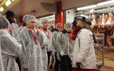 29-01-2019 : Les lycéens en voyage à Rungis et Versailles