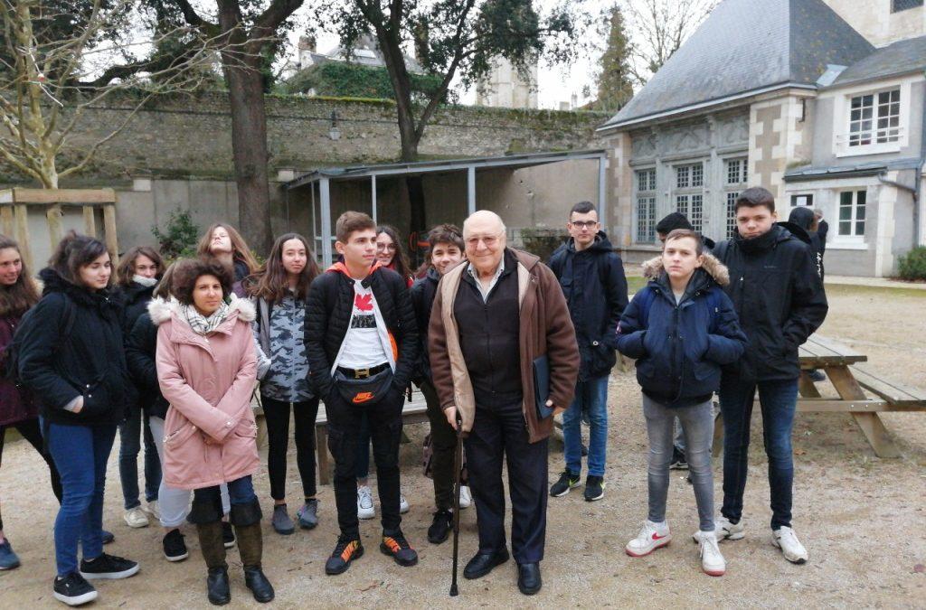 08-02-2019 : Rencontre avec Mr NUSSBAUM, enfant juif pendant la guerre