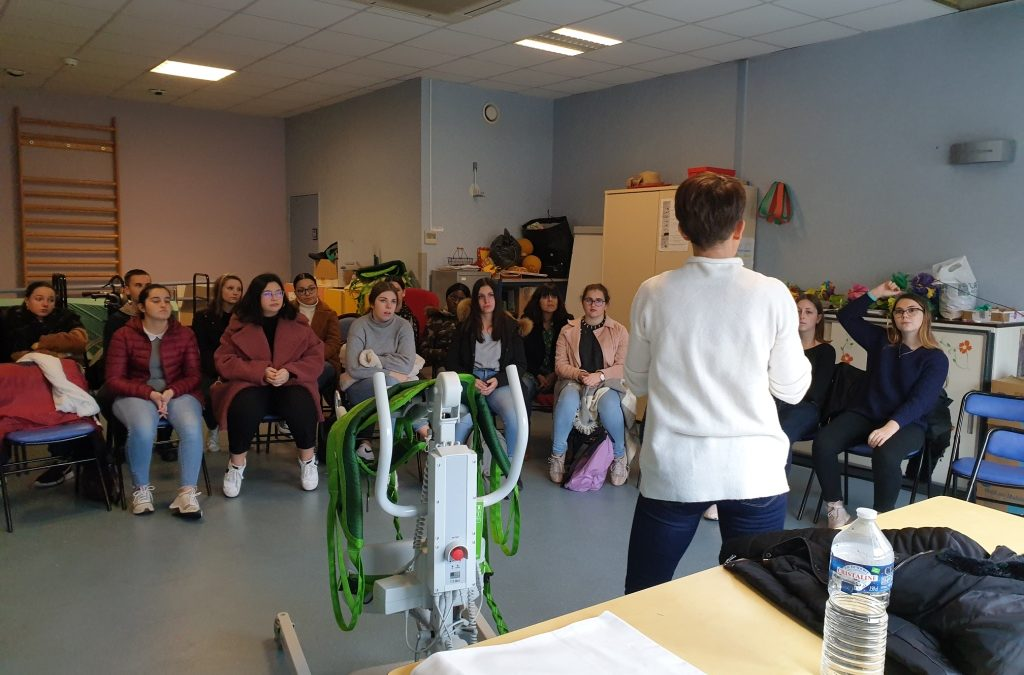 15-11-2019 : Visite à l'EPHAD de Bellevue pour les ASSP