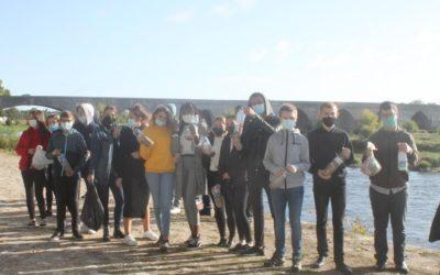 Les élèves du Lycée de l'Abbaye font un geste pour protéger la planète !